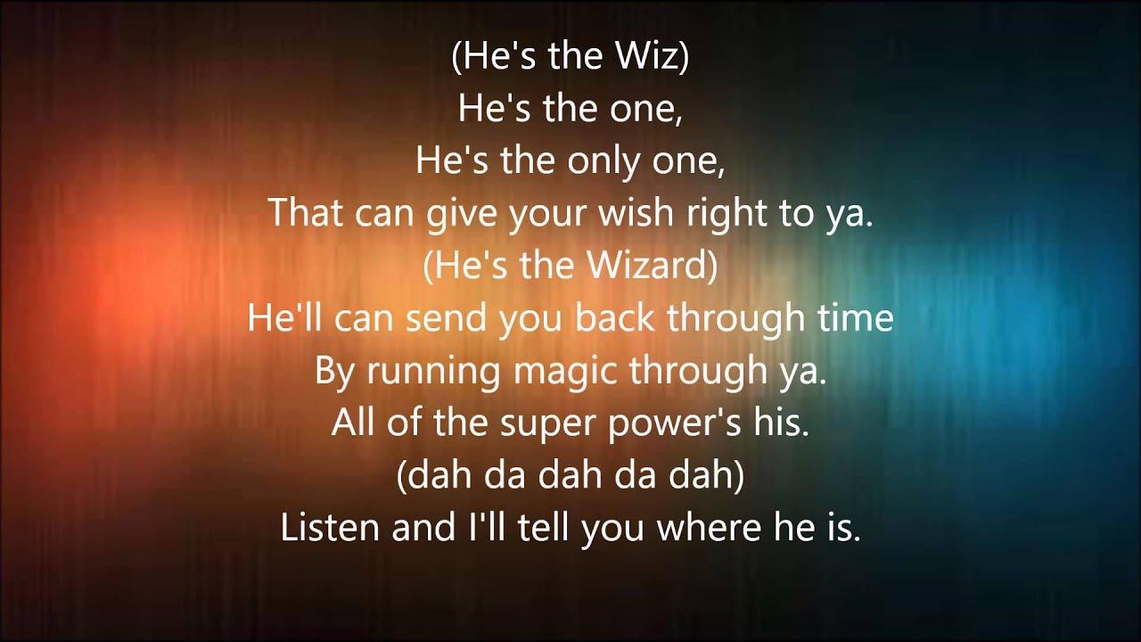 he s the wiz the wiz live lyrics youtube