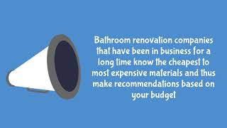 WHAT IS THE COST OF BATHROOM RENOVATION IN VAUGHAN | Richmond Hill, ON