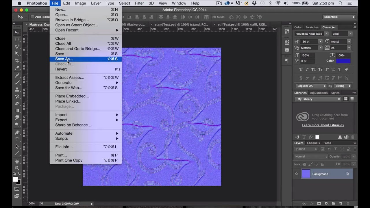 . ue tutorial photoshop texture and normal map  youtube