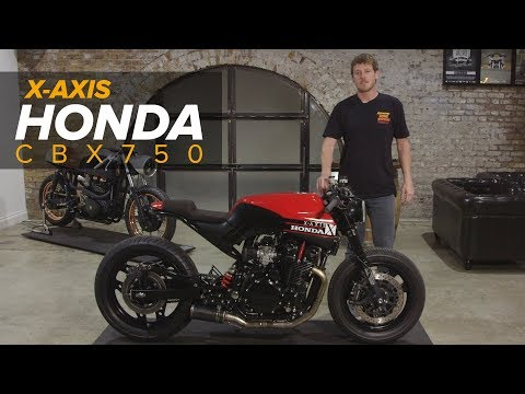 X-Axis - Honda CBX750 Custom Motorcycle Build