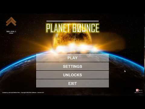 Planet Bounce Gameplay - Quick Game 2020 PC [no commentary]