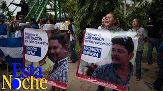 Familiares de Medardo Mairena y Pedro Mena denuncian detención ilegal de los dirigentes campesinos