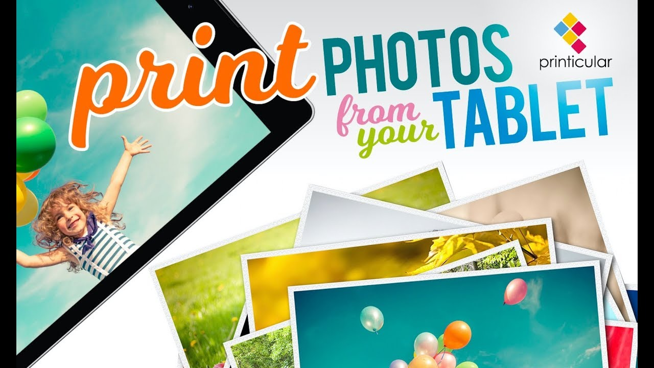How to Print Photos From Kindle & Fire Tablet / Walgreens, Tesco & Boots /  Printicular Amazon App