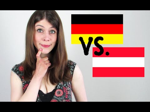 German vs. Austrian | German Speaking Austrian