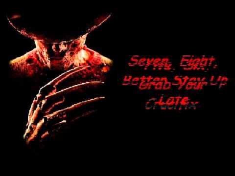 Freddy Krueger Song Lyrics