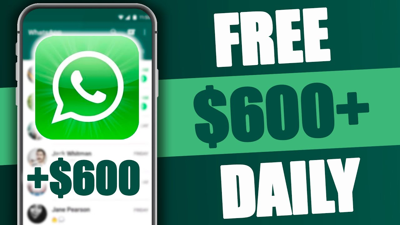 Get Paid $600 From Whatsapp Messages (Strategy Exposed)