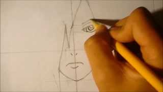how to draw uchiha madara step by step toutorial.