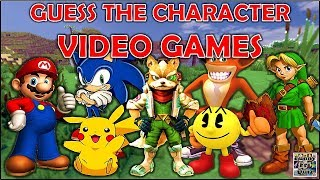 "Guess the ""VIDEO GAME CHARACTER"" (By Silhouette) Challenge/Test/Quiz"