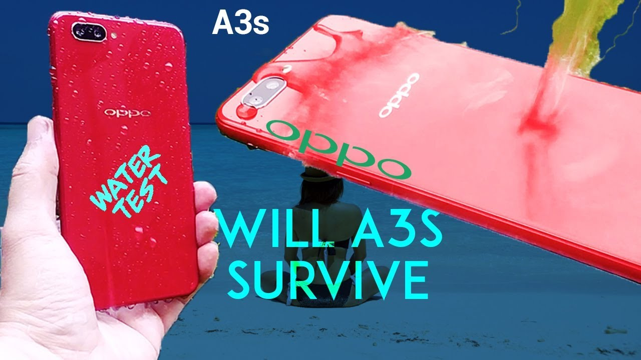 the best attitude 365a6 27c25 Oppo A3s Water Test 🏊🏼‍♀️ - Waterproof factor not same Vs realme 1 🤔!!