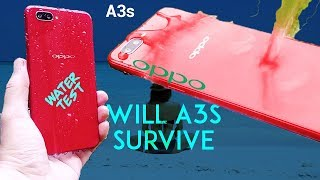 Oppo A3s Water Test 🏊🏼‍♀️ - Waterproof factor not same Vs realme 1 🤔!!