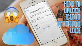 How to Unlock or Remove iCloud Activation Lock 2017 100%