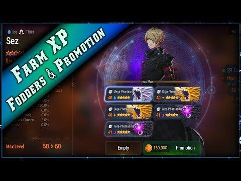 Epic Seven - Farm Fodders & Gold & Promotion 6 étoiles ► [ Epic7 Global FR ]
