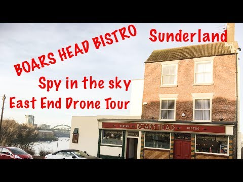 Spy in the Sky Boars Head Bistro Sunderland East End Drone Tour