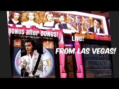 SEX & The CITY Slot Machine Playing with Patty Having Fun! 2019 Las Vegas Bonus No Big Jackpot 🎰