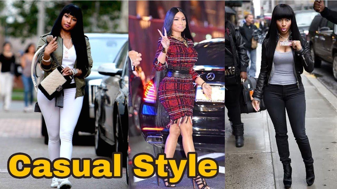 Nicki Minaj casual style 2018 - YouTube