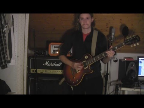 ZZ Top - Just Got Paid Cover (Greco Les Paul Orange or 15)