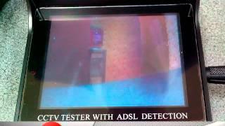 настройка фокуса камеры видеонаблюдения при помощи монитора 3.5