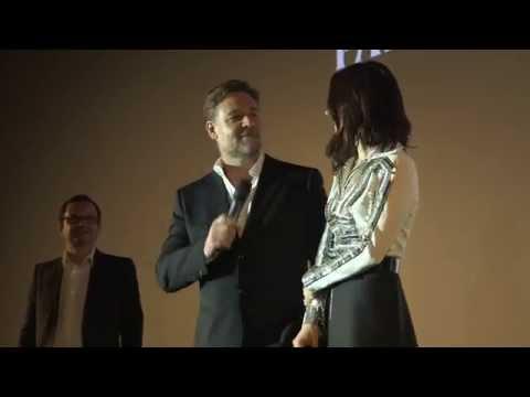 Noah: Paris Premiere Cast Arrivals & Fashion  Russell Crowe, Jennifer Connelly