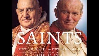 Pourquoi les canonisations ensemble des saints Jean XXIII et Jean-Paul le grand ?