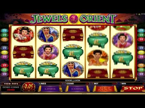 Jewels of the Orient ™ free slots machine game preview by Sl