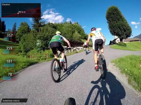 Kitzalpbike Brixen Hillclimb Full Race (Data Overlay)