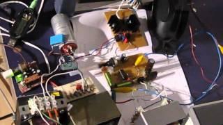 Plasma Speaker SSTC 15th Stage Fullbridge Audio Modulation