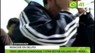 Sujeto es detenido con posesión de droga - Trujillo