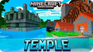 Minecraft PE Seeds - Double Jungle Temple & Savanna Village Seed - MCPE 1.2 / 1.1