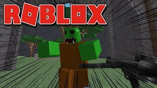 ROBLOX-AWESOME ADDICTIVE GAME! (Zombie Attack)