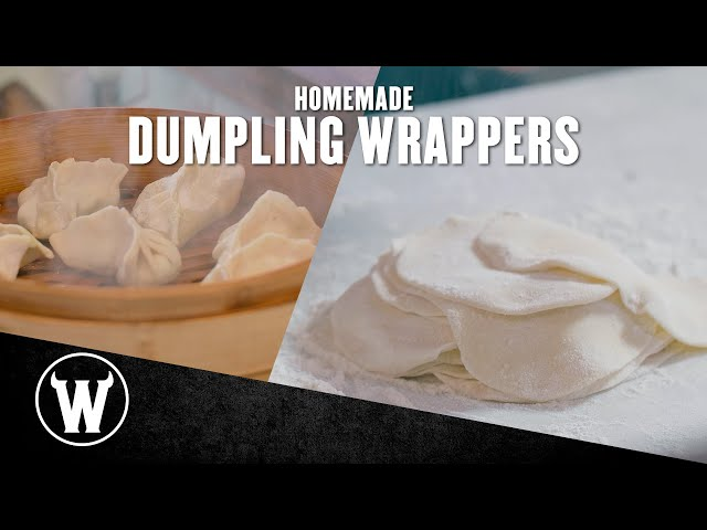 Homemade Dumpling Wrappers | The Wicked Kitchen