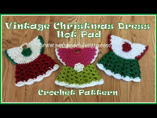 Vintage Handmade Crocheted Green Star or Snowflake Potholder Hot Pad Gift Present Teacher Co-Worker St Patricks Day Ready to Go