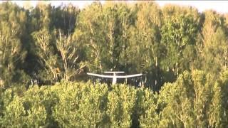 видео: Демонстрация работы закрылков при посадке..