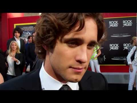 "Diego Boneta at the ""Rock of Ages"" premiere"