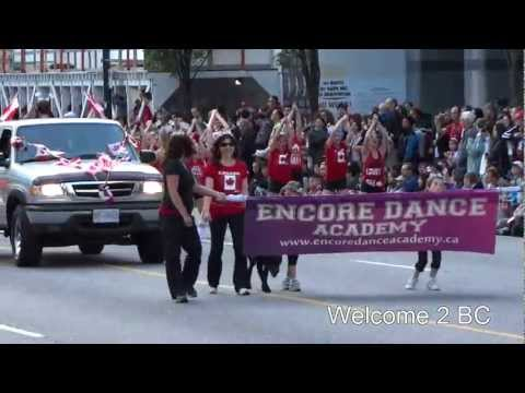 Canada Day Parade, Vancouver DownTown, BC  2012 ( Part 1 )