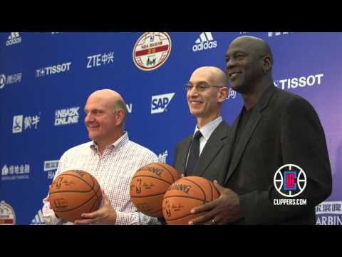 2015 NBA Global Games: Clippers in Shenzhen and Shanghai