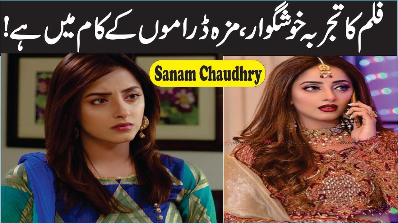 Sanam Chaudhry Talking About Movies And TV Shows Sanam