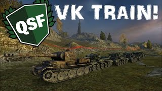World of Tanks - VK train stronghold! [QSF]