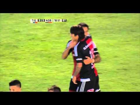 Tigre y Newells jugaron un partidazo en Victoria y terminaron empatados en 3