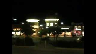 CHERRYVALE MALL AT NIGHT IN ROCKFORD IL