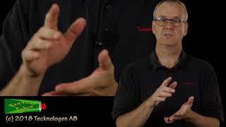 Teckenspråkets siffror