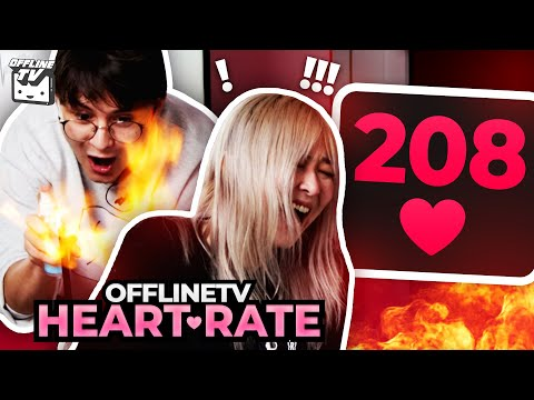 TASERS AND FLAMES!! - OFFLINETV HEART RATE CHALLENGE