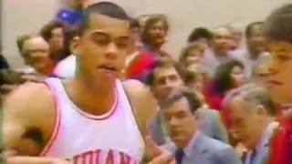 January 21, 1989 - Michigan State at Indiana, Mens College Basketball