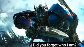 Transformers Aoe/Tlk - movie tribute