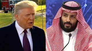 "Trump Chooses ""Relationship with Saudi Arabia"" over Accountability for Jamal Khashoggi's Murder"