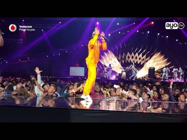 Wizkid, Dj Maphorisa, Dj Buckz, Emtee perfomance MTV MAMA 2016