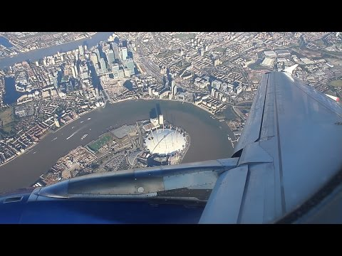 British Airways Airbus A320 - flight from Helsinki to London
