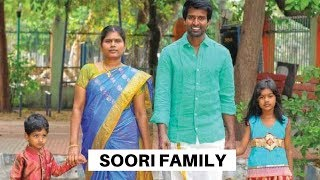 Actor Soori Family Photos with Wife, Daughter and Son