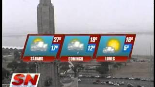 Pronóstico del tiempo para el fin de semana  Diego Olobardi