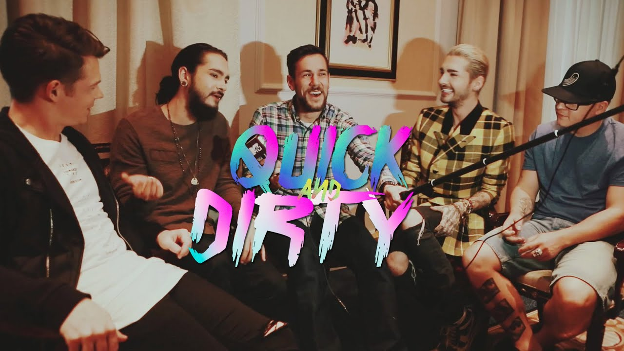 #17 - Cute Vagina Quick And Dirty Tokio Hotel 2016