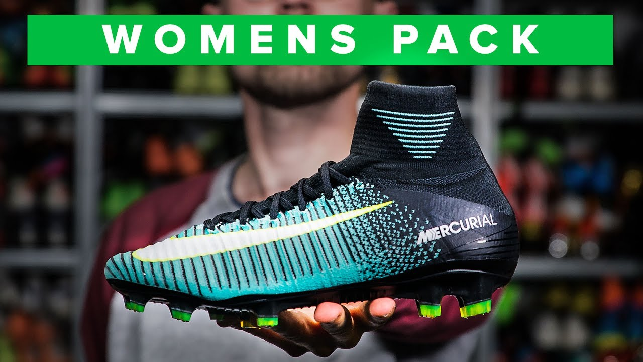 Fedelmente danza svolta  COOLER THAN THE MENS COLOURS? Nike womens football boots - YouTube